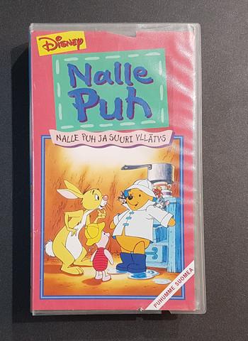 VHS-elokuva (Walt Disney:Nalle Puh ja suuri yllätys)