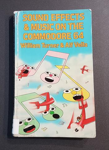 Kierrätyskirja (William Turner & Alf Vella- Sound Effects & Music On The Commodore 64)