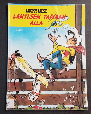Kierrätyssarjakuvalehti (Lucky Luke - Läntisen taivaan alla)