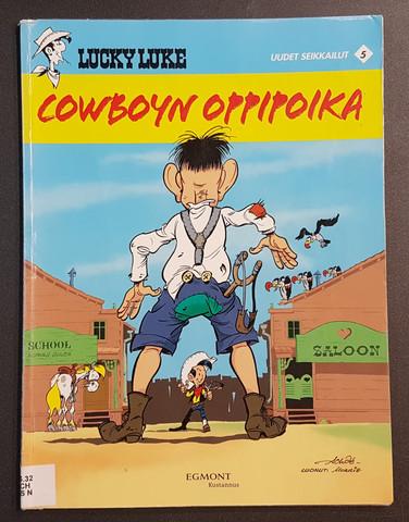 Kierrätyssarjakuvalehti (Lucky Luke - Cowboyn oppipoika) #2