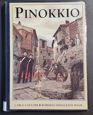 Lasten kierrätyskirja (Carlo Collodi - Pinokkio)