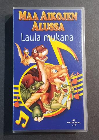 VHS-elokuva (Maa aikojen alussa - Laula mukana)