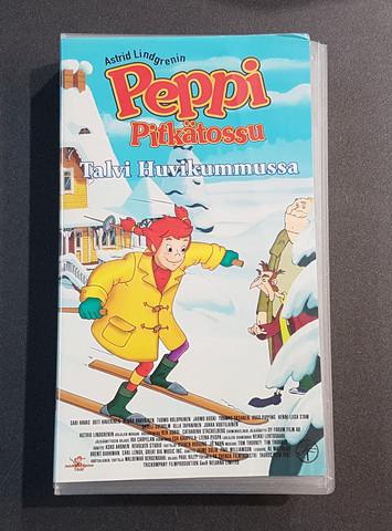 VHS-elokuva (Peppi Pitkätossu - Talvi huvikummussa)
