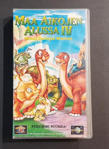 VHS-elokuva (Maa aikojen alussa IV)