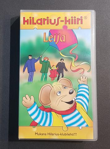 VHS-elokuva (Hilarius Hiiri - Leija)