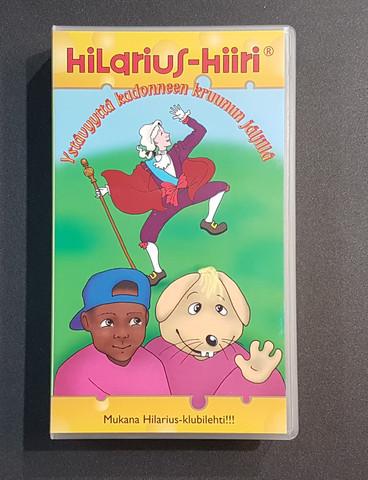 VHS-elokuva (Hilarius Hiiri - Ystävyyttä kadonneen kruunun jäljillä)