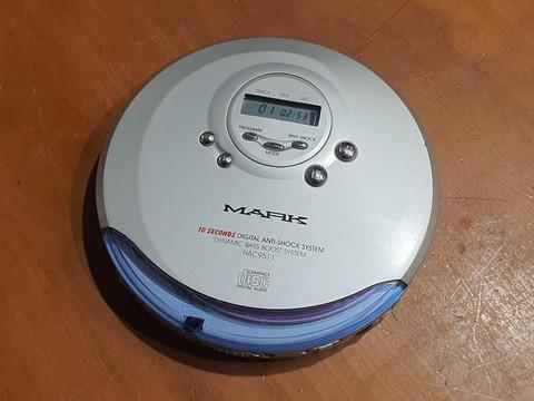 Kannettava CD -soitin (Mark HAC9511)