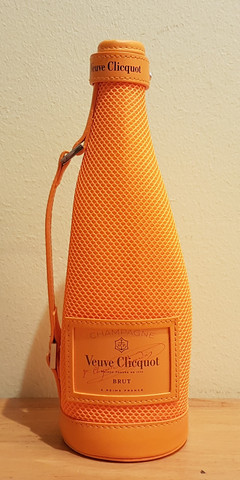 Veuve Clicquot samppanjanpullon kantokassi