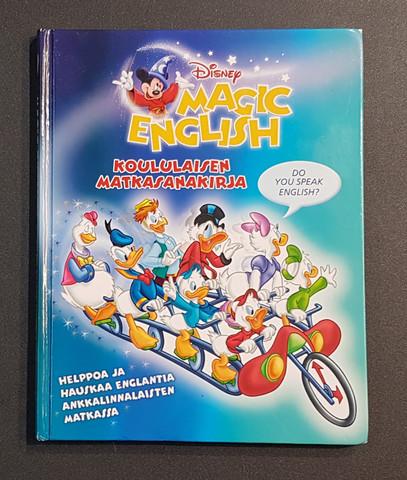 Lastenkirja (Disney Magic English - Koululaisen matkasanakirja)