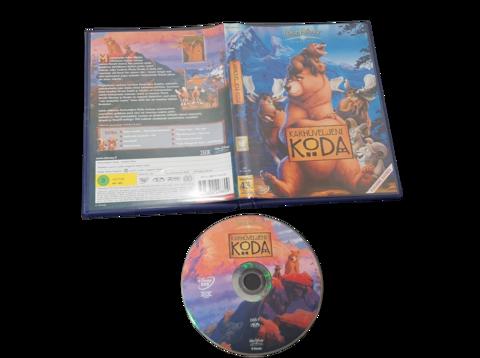Lasten DVD elokuva (Karhuveljeni Koda)
