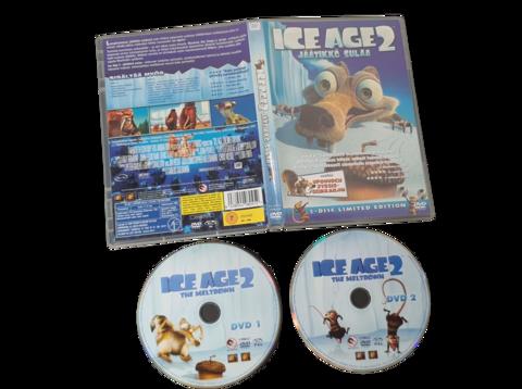 Lasten DVD elokuva (Ice Age 2 - Jäätikkö Sulaa)