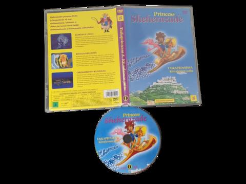 Lasten DVD elokuva (Princess Sheherazade - Taikaprinsessa Kiinalainen juttu)