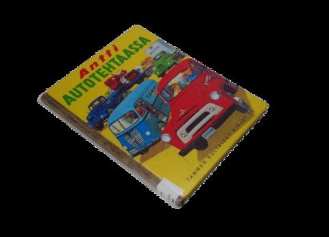 Lasten kierrätyskirja (Tammen kultaiset kirjat - Antti autotehtaassa)