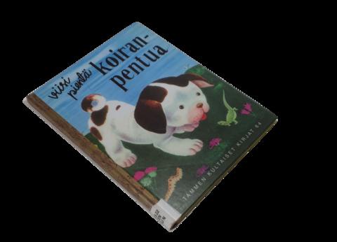 Lasten kierrätyskirja (Tammen kultaiset kirjat - Gustaf Tenggren - Viisi pientä koiranpentua)