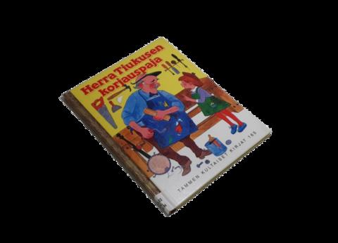 Lasten kierrätyskirja (Tammen kultaiset kirjat - Ronnie Pelzman - Herra Tiukusen korjauspaja)