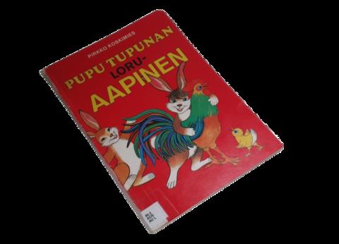 Lasten kierrätyskirja (Pirkko Koskimies - Pupu Tupunan loruaapinen)