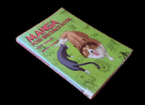 Kierrätyskirja (Yoshiro Yamaguchi - Manga pose resource book : Vol 2 : Animal)
