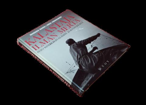 Kirja (Markku Saiha & Juha Virkkunen - Kalastaja ilman merta- Into Sandbergin elämää ja kynänjälkeä)