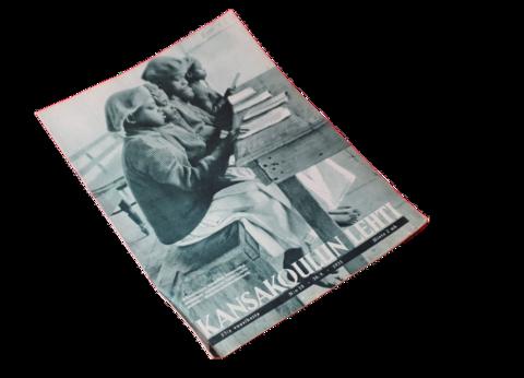 Vanha lehti (Kansakoulun lehti 18/1935)