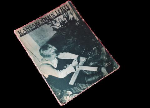Vanha lehti (Kansakoulun lehti 23-24 / 1935)