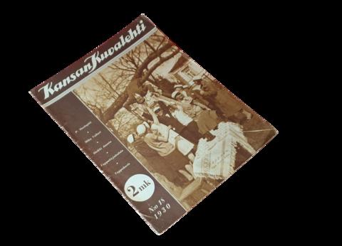 Vanha lehti (Kansan kuvalehti nro. 18 / 1930)