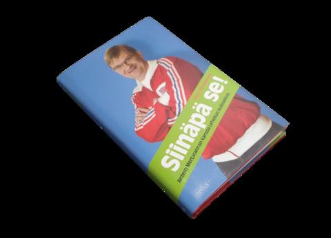 Kirja (Petri Nevalainen  - Siinäpä se! Antero Mertarannan kanssa urheilun kulisseissa)