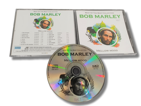 CD -levy (Bob Marley - Best of the Best Collection Vol.1)
