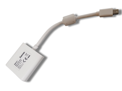 Mini DisplayPort VGA-adapteri Appleen (Hama)