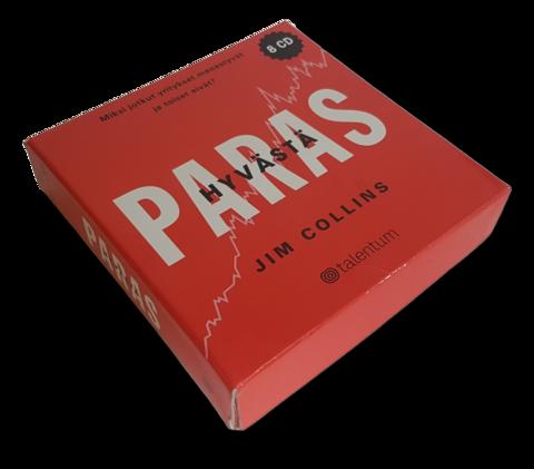 Äänikirja (Jim Collins - Hyvästä paras - Yrityskirjallisuuden kansainvälinen huipputeos)