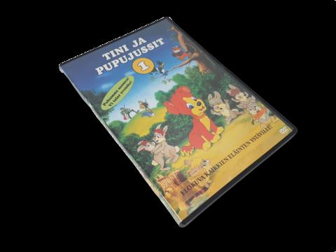 Lasten DVD-elokuva (Tini ja Pupujussit 1)