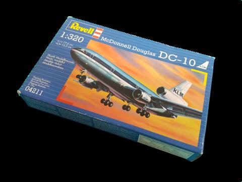 Muovirakennussarja 1:320 (Revell McDonnell Douglas DC-10 KLM)