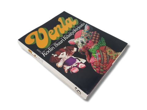 Kirja (Venla  - Kodin Suuri Käsityökirjasto 6 - Nypläys, Askartelu, Nuorisopaidat)