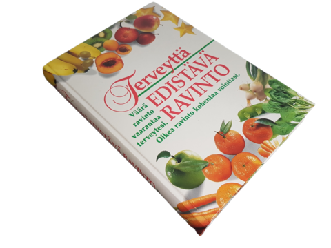 Kirja (Terveyttä edistävä ravinto - toim. Patricia Hausman ja Judith Benn Hurley)