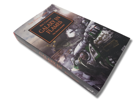 Kirja (Ben Counter - Warhammer 40,000 - The Horus Heresy - Galaxy In Flames - The heresy revealed)