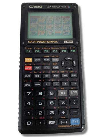Graafinen laskin (Casio CFX-9950GB PLUS)
