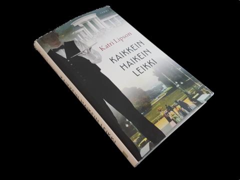 Kirja (Katri Lipson - Kaikkein haikein leikki)