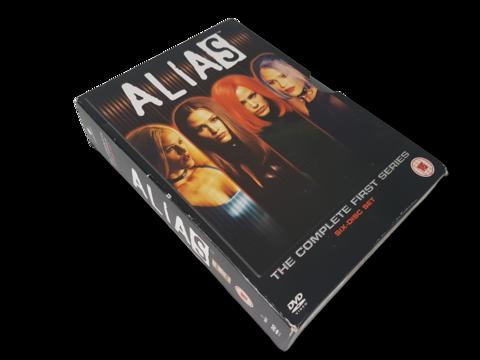 Televisiosarja (Alias 1. tuotantokausi K16)
