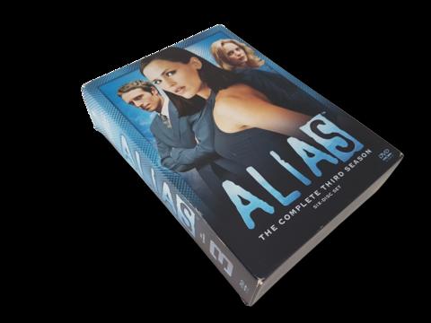 Televisiosarja (Alias 3. tuotantokausi K16)