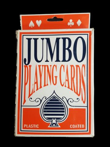 Jumbo-pelikortit (Suurikokoiset pelikortit)