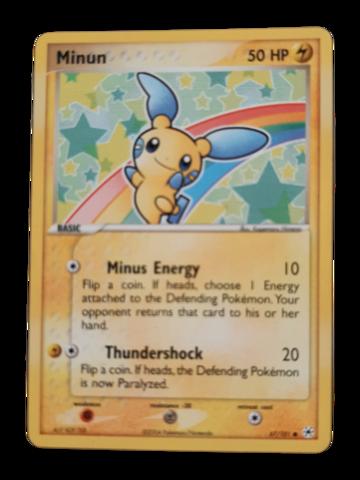 Pokemon kortti Minun  67/101  (Ex Hidden Legends)