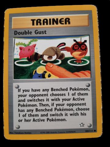 Pokemon kortti Double Gust 100/111  (Neo Genesis)