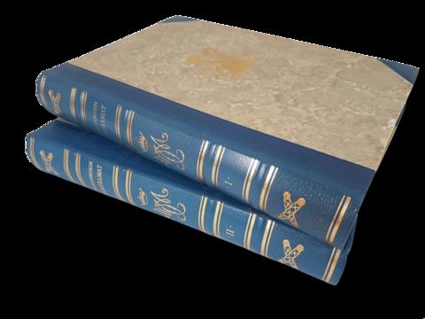 Kirjasarja (Mannerheimin muistelmat, ensimmäinen osa numeroitu 735 / 6000)