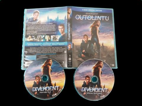 DVD-elokuva (Divergent - Outolintu) K12