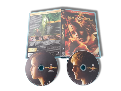 DVD-elokuva (Nälkäpeli) K12