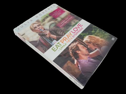 DVD-elokuva (Eat Pray Love - Omaa tietä etsimässä) S