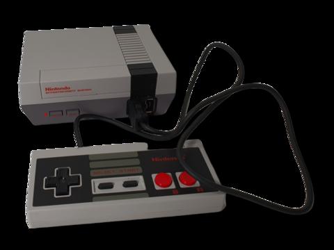 Pelikonsoli (Mini Nintendo CLV-001)