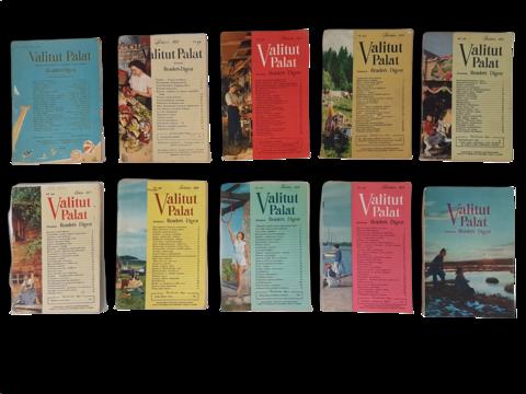 Valitut Palat (9 sekalaista 1950-luvun irtonumeroa, sekä yksi lehti vuodelta 1948)
