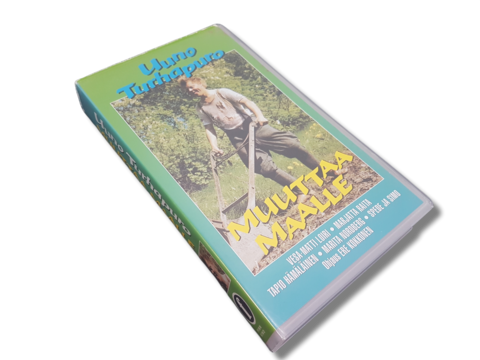VHS-elokuva (Uuno Turhapuro muuttaa maalle) S