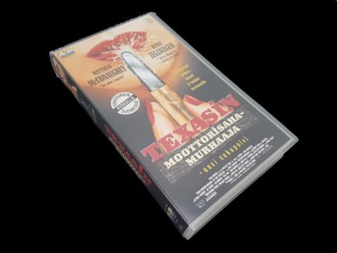 VHS-elokuva (Texasin moottorisahamurhaaja - uusi sukupolvi) K16