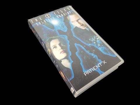 VHS-elokuva (The X-Files - Salaiset kansiot - Patient X) K16